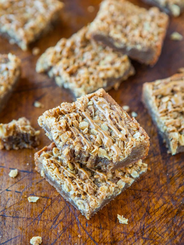 Cookie Butter Brown Sugar Streusel Bars