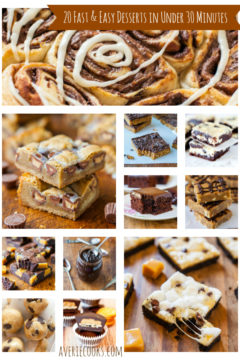 20 Fast and Easy Desserts in Under 30 Minutes