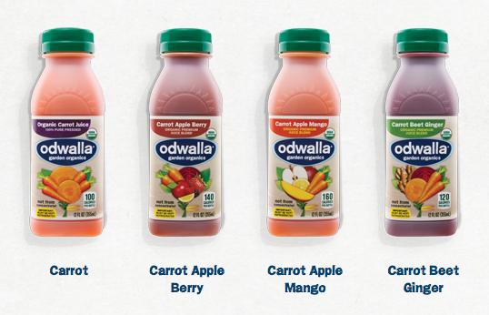Odwalla Garden Organics Juices