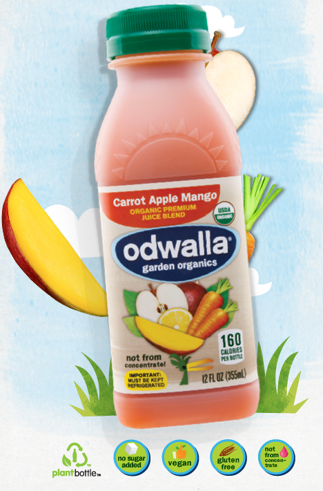 Odwalla garden organics juice