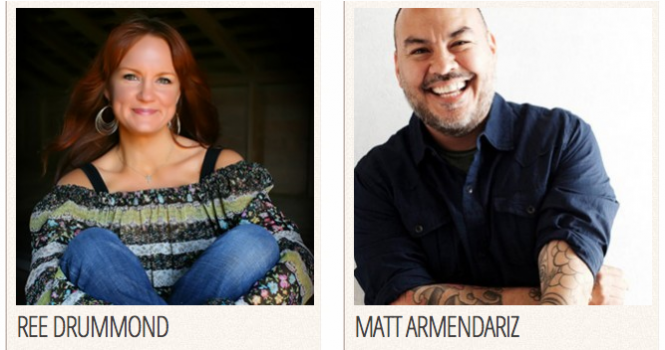 Ree Drummond and Matt Armendariz