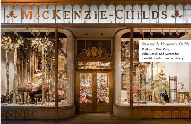 Mackenzie-Childs store front