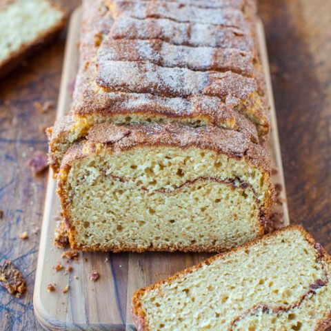 Cinnamon Swirl Bread With A Cinnamon Sugar Crust Averie Cooks