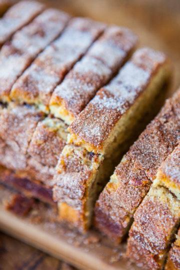 Cinnamon-Sugar Crust Cinnamon-Ribbon Bread