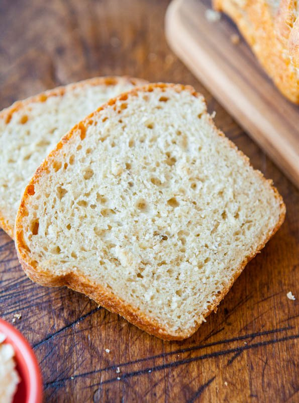 Soft and Fluffy Sandwich Bread averiecooks.com