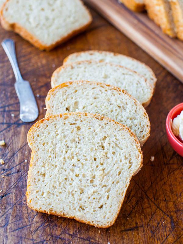 Soft & Fluffy Sandwich Bread