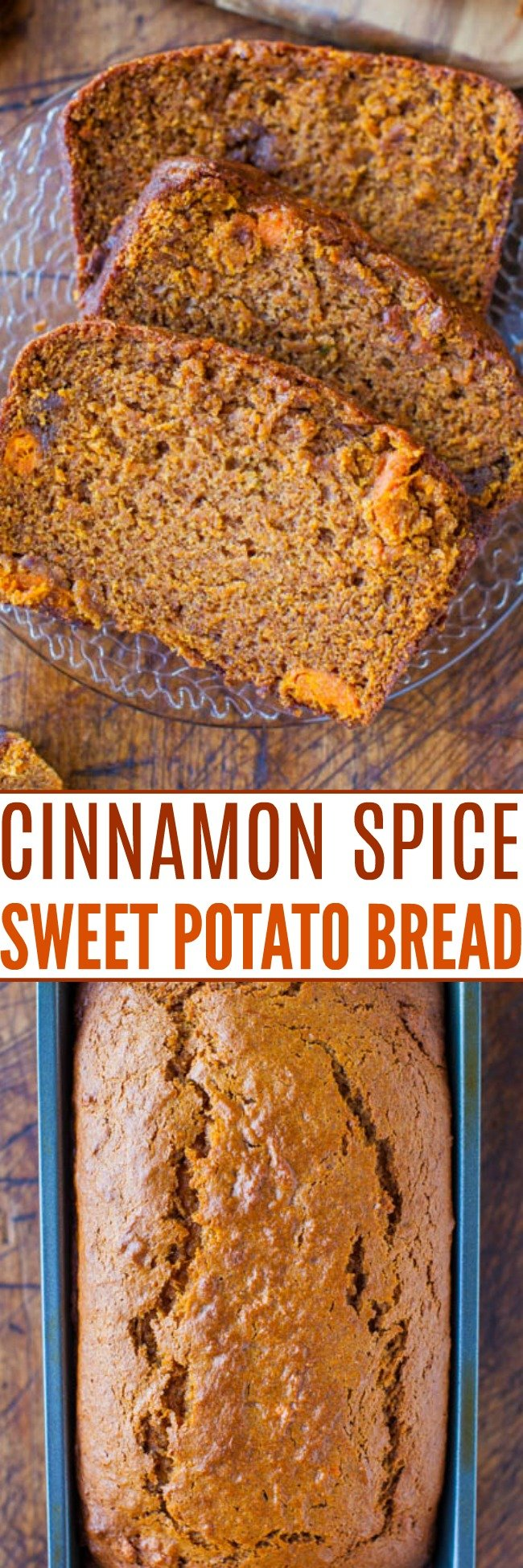 Cinnamon and Spice Sweet Potato Bread — Sweet potatoes do a wonderful job of keeping this bread extremely soft and moist. It's almost like cake it's so soft, springy, and bouncy!