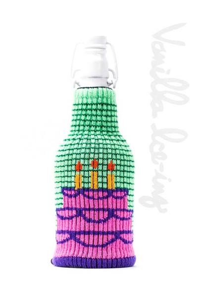 Vanilla Ice-Ing bottle insulator