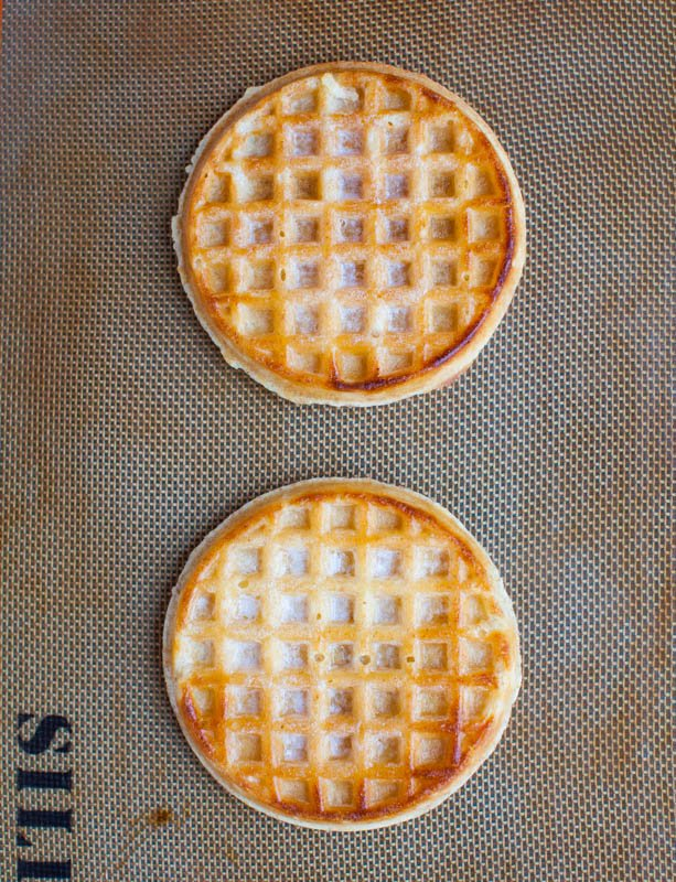 White Chocolate Buttery Waffles Snack Mix - Ready in 10 Minutes averiecooks.com