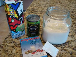 Vegan Coconut Milk Kefir