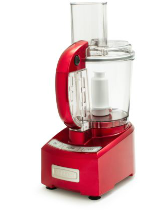 Cuisinart 7-Cup Food Processor in Metallic Red