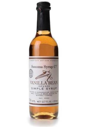 Vanilla Bean-Infused Simple Syrup