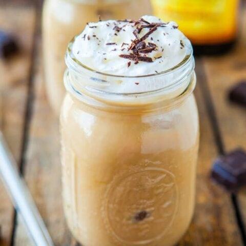 Creamy Boozy Iced Coffee