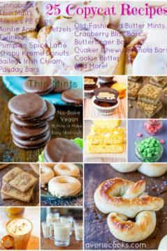 25 Copycat Recipes and Cookbook Giveaway