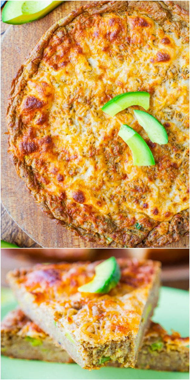 30-Minute Cheesy Avocado Skillet Pizza Bread (whole-wheat & vegan with vegan cheese) - Like cheese bread that meets a 30-min skillet pizza with avocado!