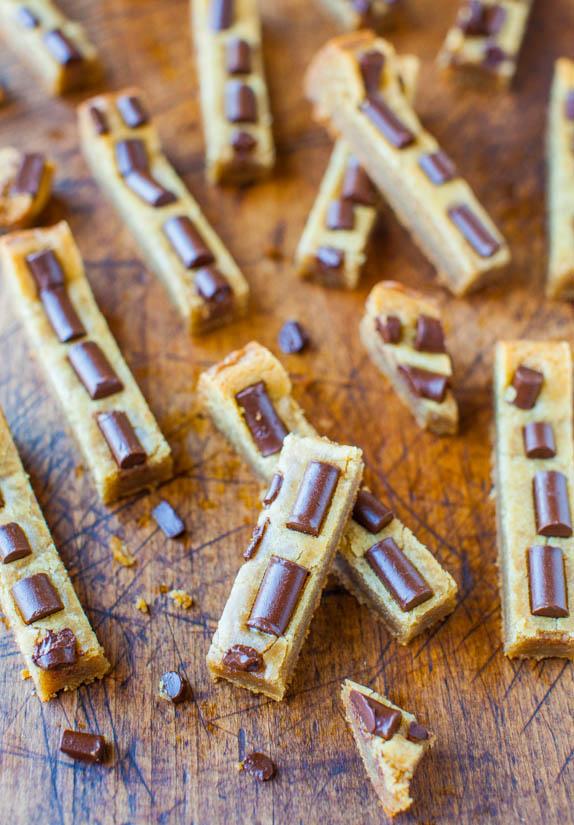 Chocolate Chunk Cookie Sticks - Recipe at averiecooks.com