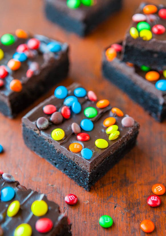 Homemade Little Debbie Cosmic Brownies - Recipe at averiecooks.com