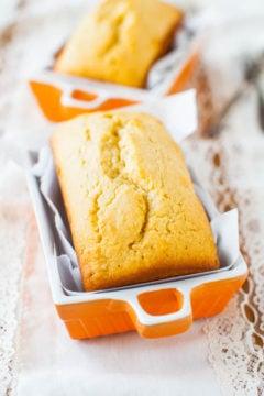 Mini Cream Cheese Pound Cakes with Vanilla Cream Cheese Glaze