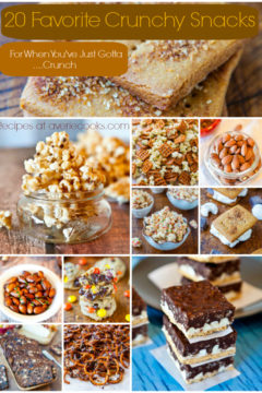 20 Favorite Crunchy Snacks and Healthy Chips Maker Giveaway