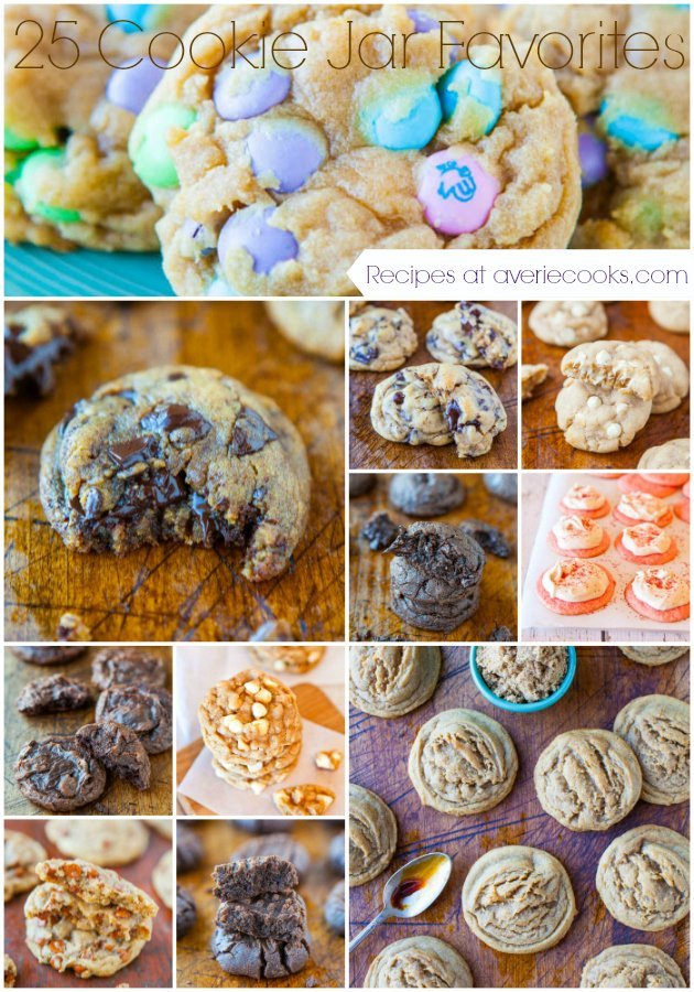 f25 Cookie Jar Favorite Cookies - Recipes at averiecooks.com