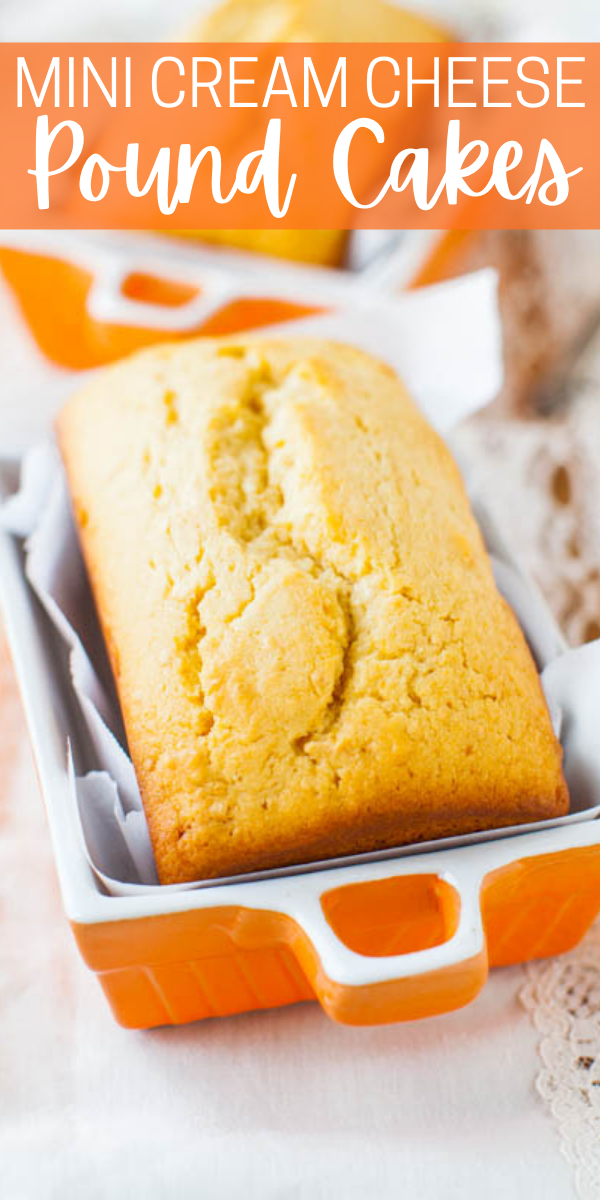 Glazed Mini Pound Cake Loaves — Adorable mini vanilla pound cakes that are moist, tender, and not at all dry!! Or you can bake them as a full-sized loaf. This recipe will make anyone a fan of pound cake!!