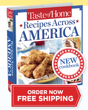 Recipes Across America Cookbook