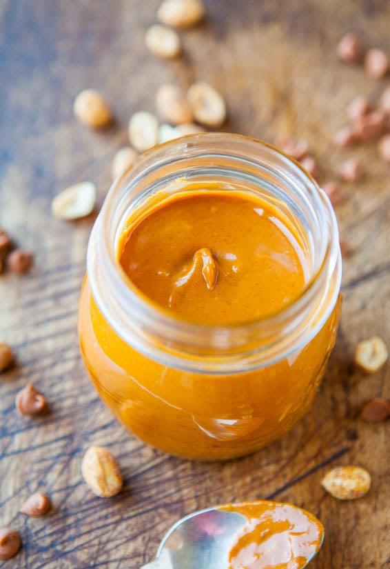 Homemade Cinnamon Chip and White Chocolate Peanut Butter - Recipe at averiecooks.com