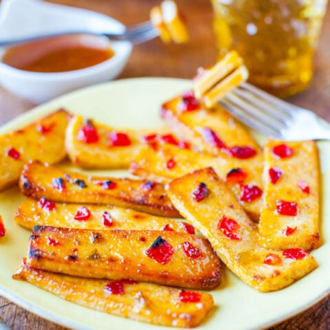 Hot and Sour Broiled Tofu