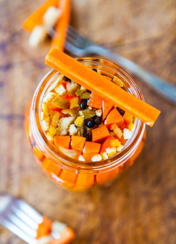 How to Make Easy Pickled Vegetables - Salt-free, Vegan, GF Recipe at averiecooks.com