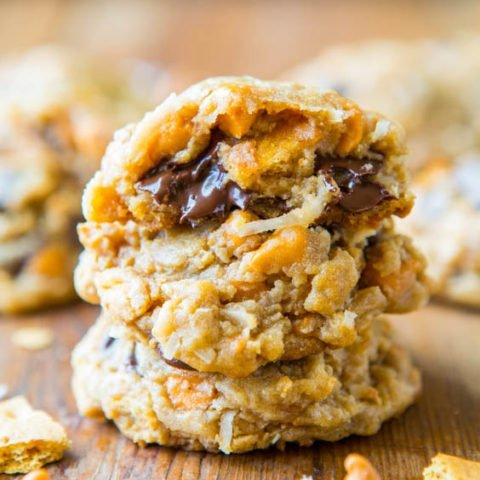 Soft and Chewy Seven Layer Magic Bar Cookies
