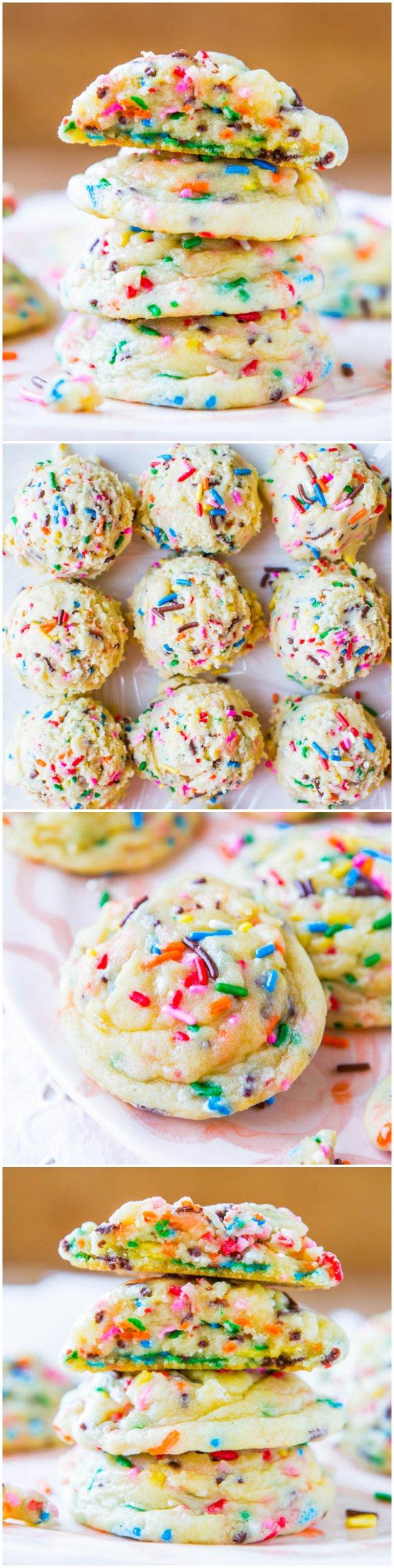 Funfetti Cake Mix Cookies From Scratch