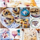 blueberryrecipescollage