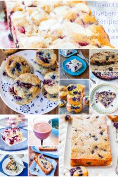12 Favorite Blueberry Recipes