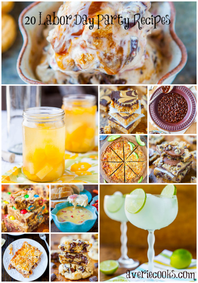20 Labor Day Party Recipes Not to Be Missed - Easy, Crowd-Pleasing Recipes at averiecooks.com