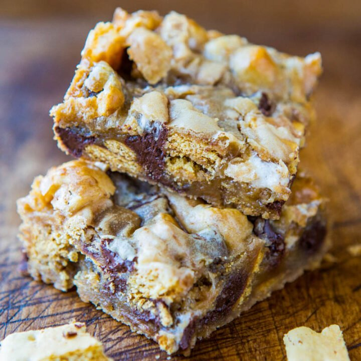 Soft and Gooey Loaded Smores Bars