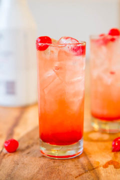 Malibu Sunset - Malibu Rum Drinks