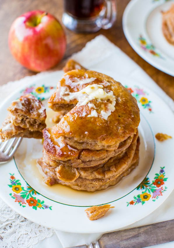 how to make apple pancakes