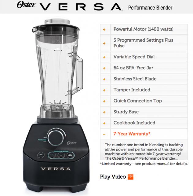 Oster® VERSA® Performance Blender
