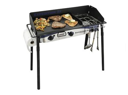 Expedition 3XTriple Burner Stove with Griddle