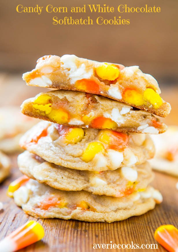candy corn cookies.. I
