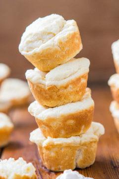 Soft Baked Mini Cream Cheese Puffs