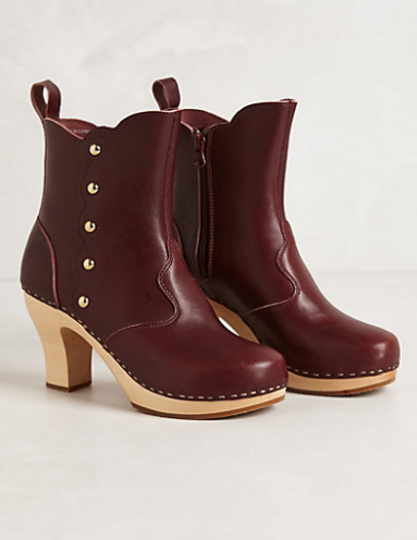 Button Booties from Anthro