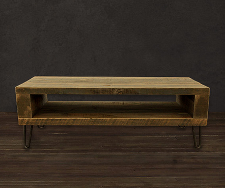Small Reclaimed Wood Media Console