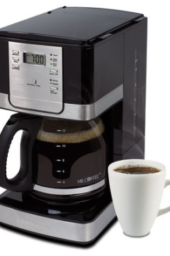 Mr. Coffee® 12-cup Programmable Coffeemaker Giveaway