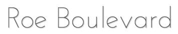 Roe Boulevard logo
