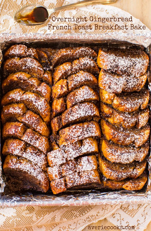 Gingerbread French Toast | Friday Favorites on www.andersonandgrant.com