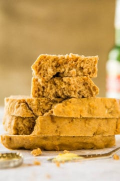 Sweet Potato Maple Vegan Beer Bread