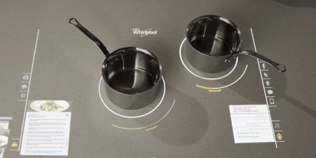 Whirlpool cooktop
