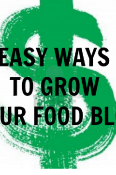 Easy Ways to Grow Your Food Blog + $250 American Express Giveaway