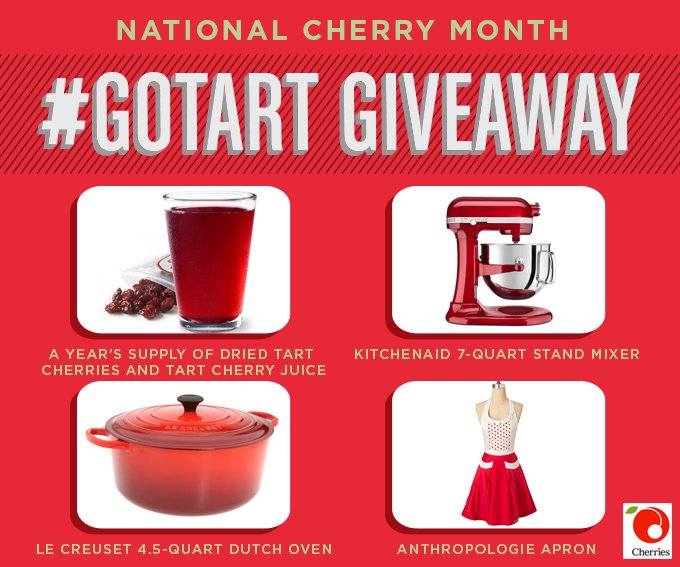 National cherry month giveaway